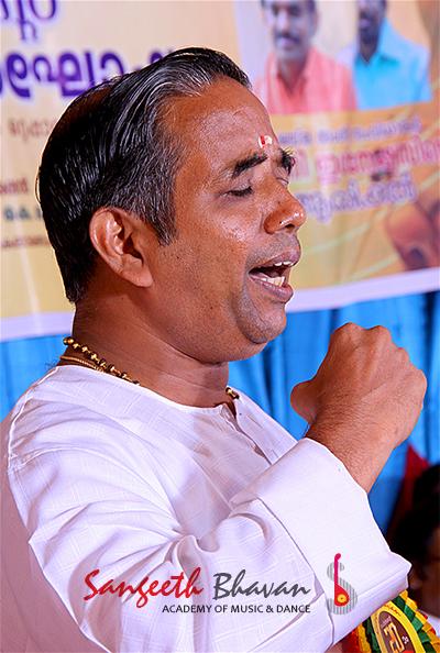 Prof. M. Balasubhramanyam Singing