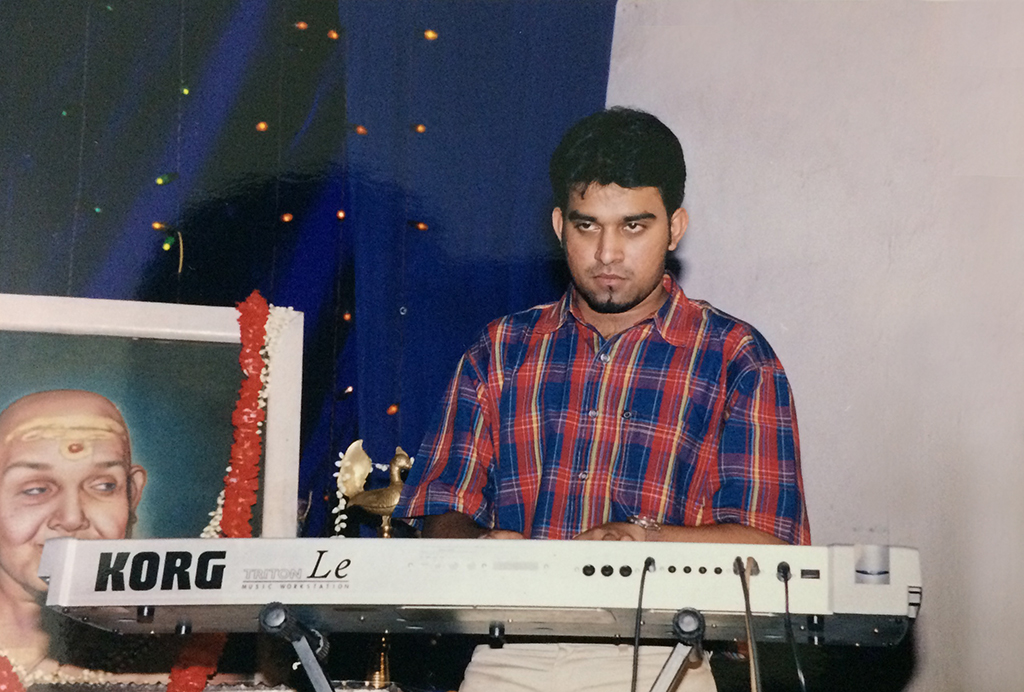 Stephen Devassy Performs on keyboard