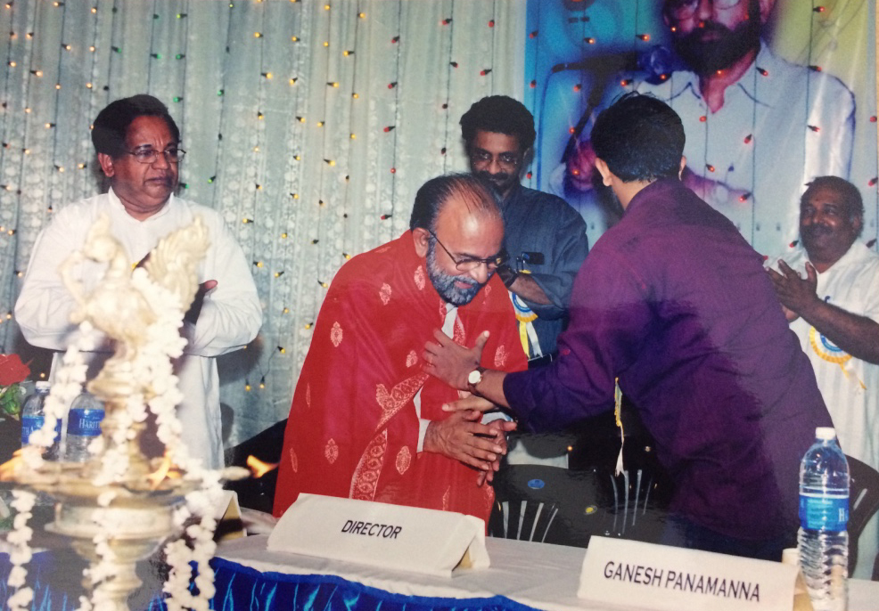 Prasanth Menon Honouring Music Director Jerry Amaldev