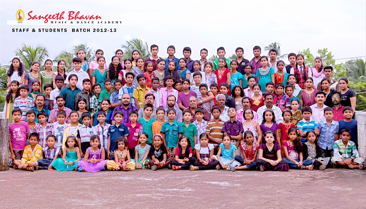 Sangeeth Bhavan Group Photo 2012-2013